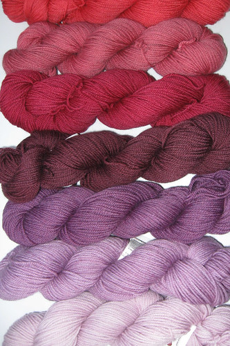 Simply Sock Yarn, Pinks and Purples | by AllisonSSYC