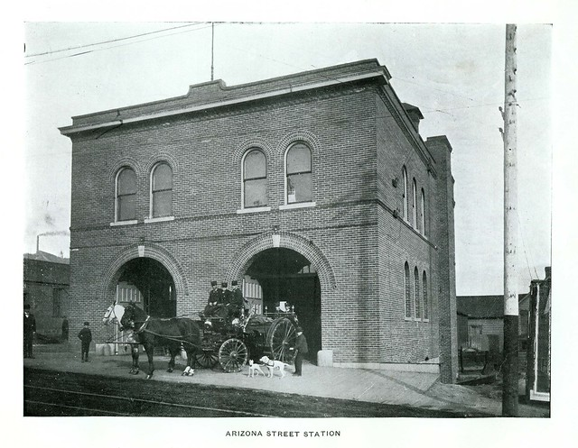 Arizona Street Station, Butte Fire Department, Butte, Montana (1901)