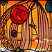 Mackintosh Stained Glass Panel (Revisited)