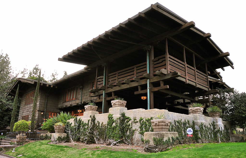 Gamble House The Gamble House Was Built In The Arts And