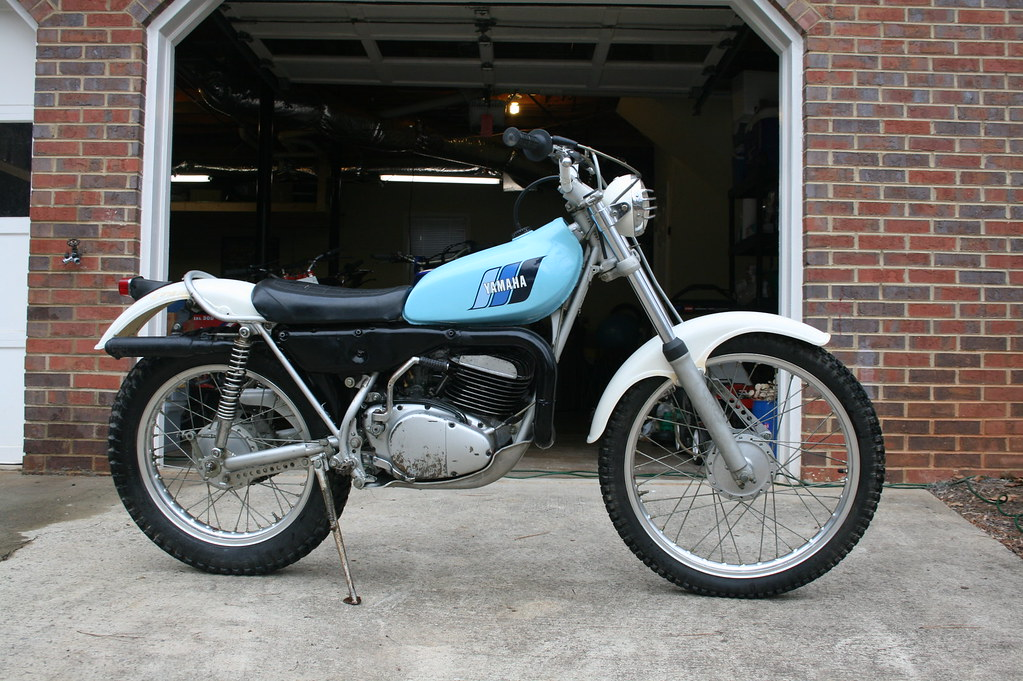 1977 Yamaha Ty 250 D Trials Bike Right Paulfromuk2002 Flickr