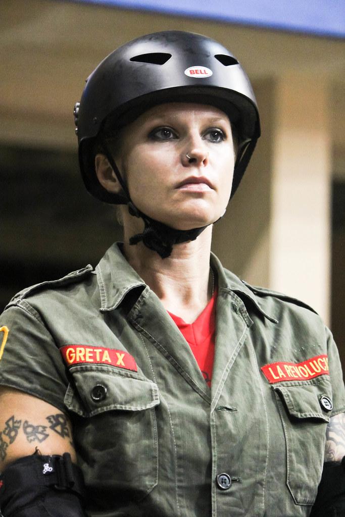 Assassination City Roller Derby Greta X The