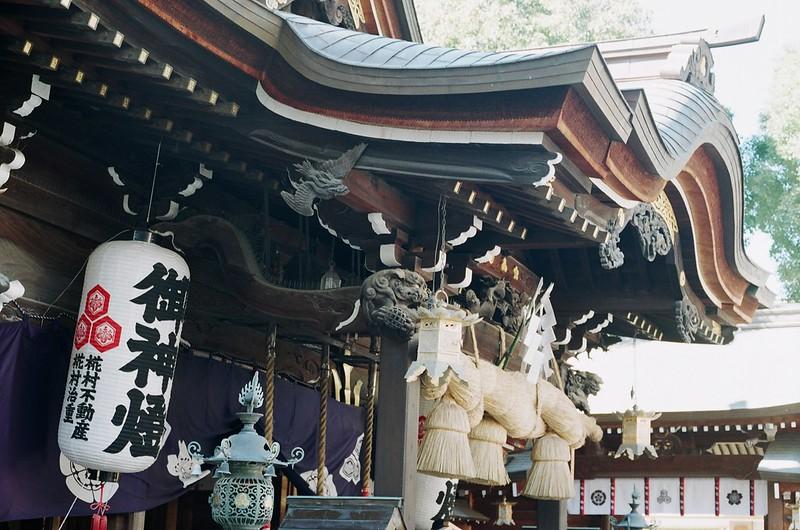 櫛田神社(拝殿)