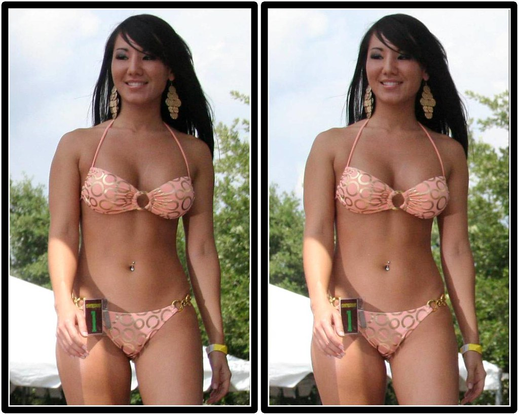 This. photos taken in bikini contest could watch