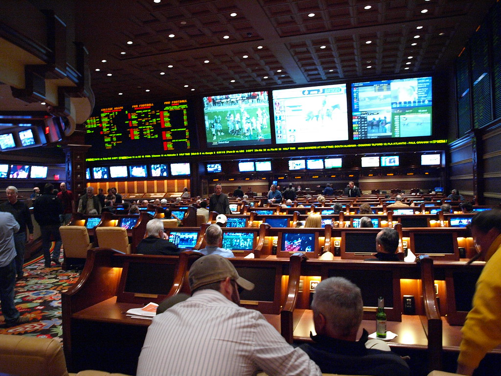 Las Vegas Winn Hotel Betting Area Javier Carcamo Flickr