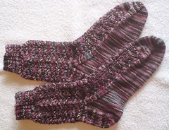 Fraggle Squiggle Socks | by shannanstitches