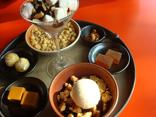 Dessert Thali at Poppy, Seattle | by cakespy