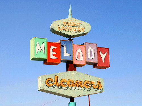 "Melody Cleaners #1 | by ""Caveman Chuck"" Coker"
