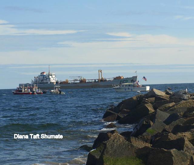 Coney Island Beach: Dreamland Bell Recovery Dive & Tow Team Coney Island Beach