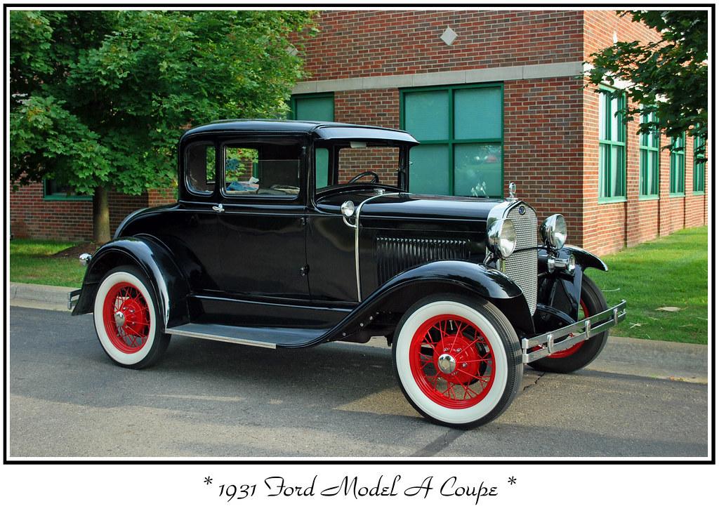 1931 ford model a coupe the september 20 2009 baker 39 s. Black Bedroom Furniture Sets. Home Design Ideas