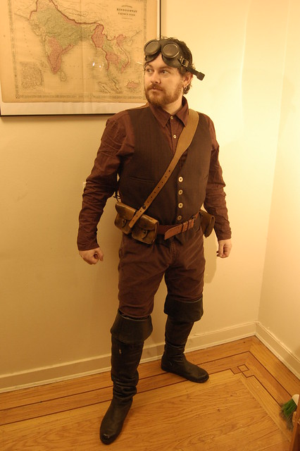 Steampunk Costume: Airship Captain | Flickr - Photo Sharing!