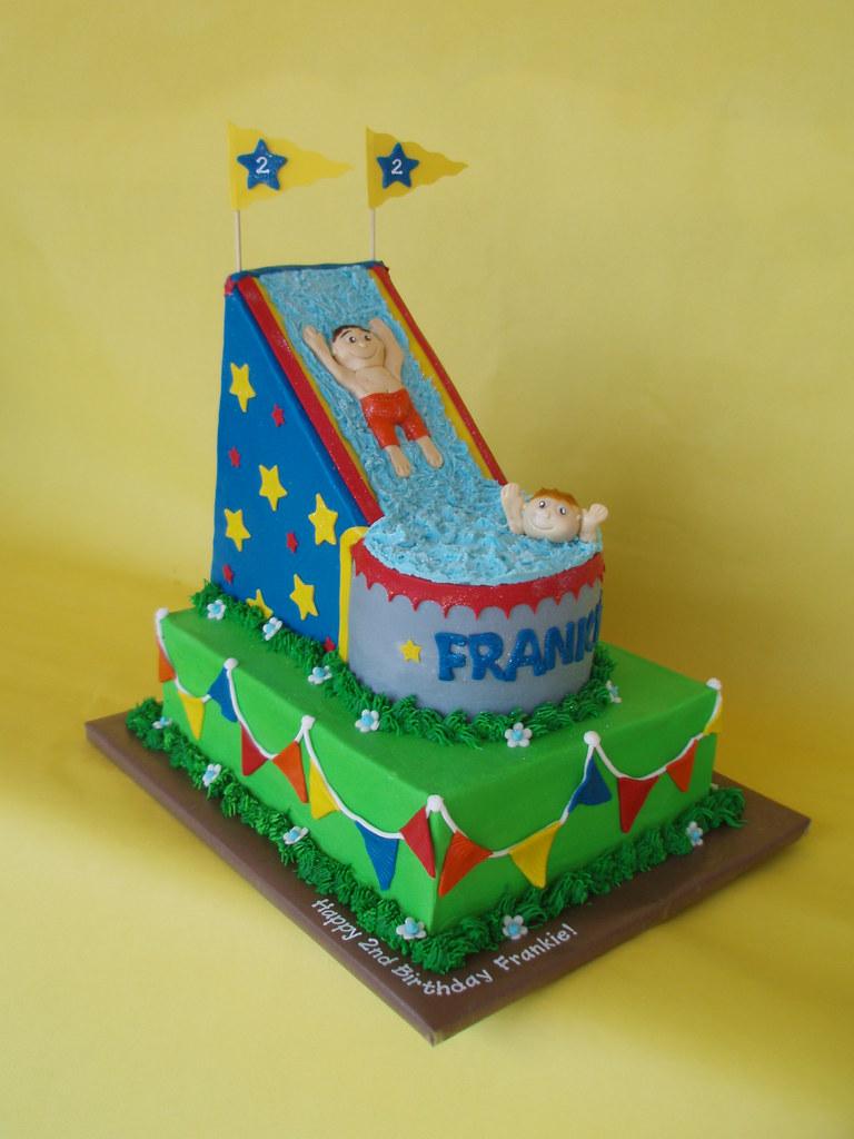 Theme Park Birthday Cake