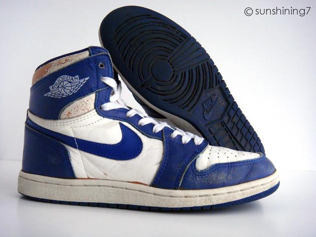 1985 Jordan 1 Bleu Blanc
