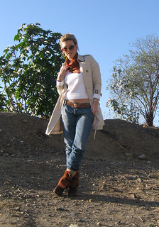 burberry-trench-jeans-vintage-boots | by ...love Maegan