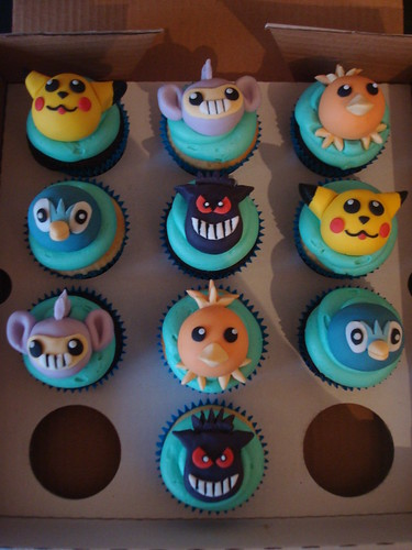 Pokemon cupcakes for a birthday boy | by Angelina Cupcake