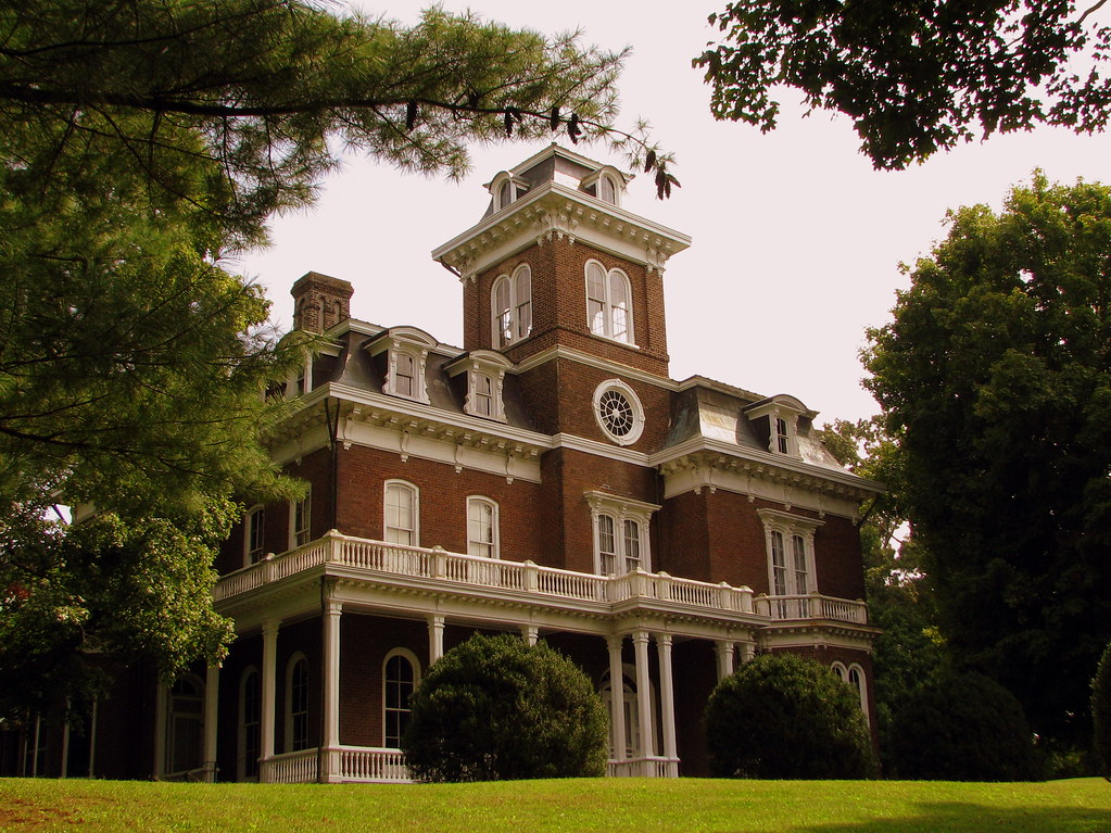 glenmore mansion located in jefferson city tn in