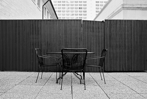 patio seating | by xgray