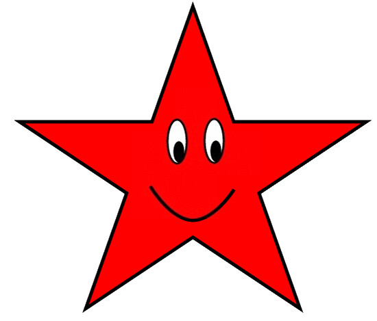 red star with happy face clipart sketch   lge 12cm flickr laughing smiley face free clip art animated smiley face clip art free
