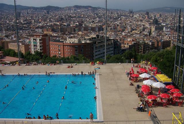 La piscina municipal de montju c barcelona la piscina muni flickr - Piscina en barcelona ...