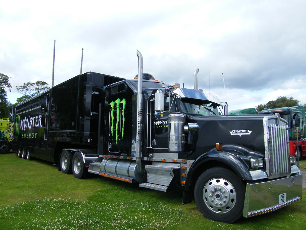 Monster Truck | Monster Energy Drink Kentworth Truck, Scotla ...