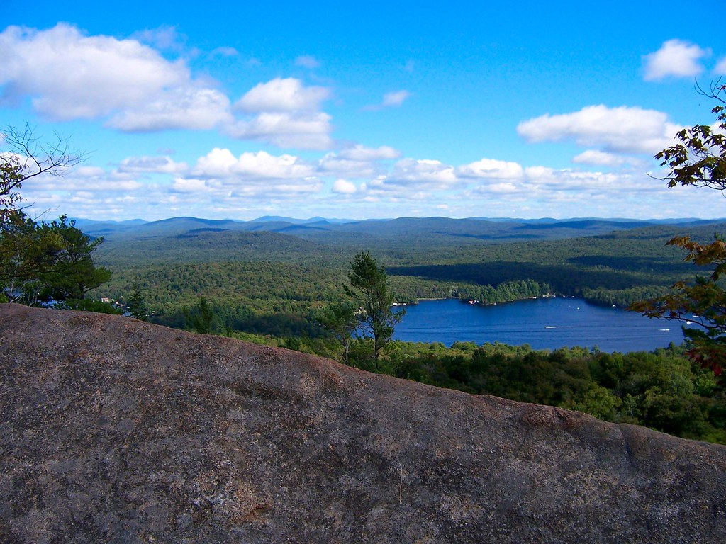 View From Bald Mountain, NY | Adirondack Peak view from Bald… | Flickr