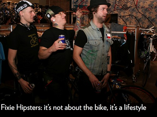 Fixie Hipsters | by Hugger Industries