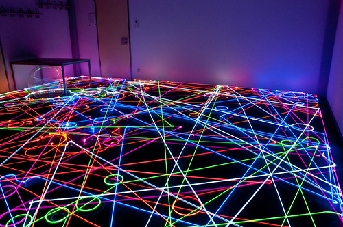 IBR Roomba Swarm in the Dark VII | by IBRoomba