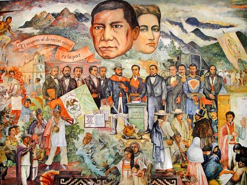 Mural palacio de gobierno oaxaca m xico 2009 6462 flickr for Benito juarez mural