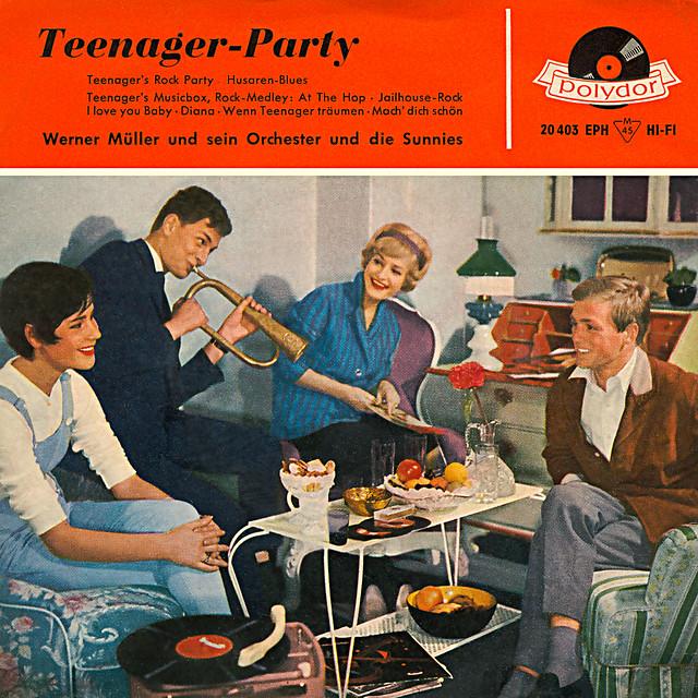Vintage Tea Party Table Decorations