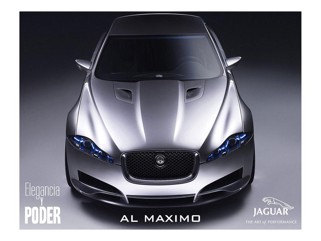 Publicidad Para Revista De Autos Jaguar Esta Publicidad
