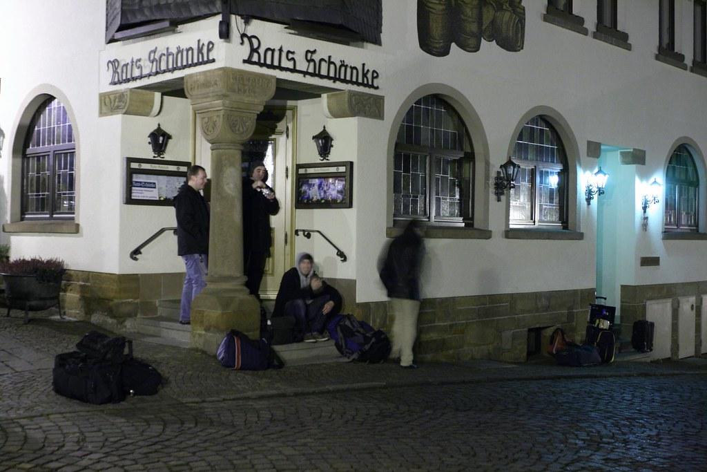 Hotel Rats-Schänke, Frankenberg | Late arrivals... and no on… | Flickr