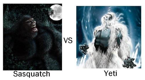 Sasquatch VS Yeti | Just something to hold us off until ...