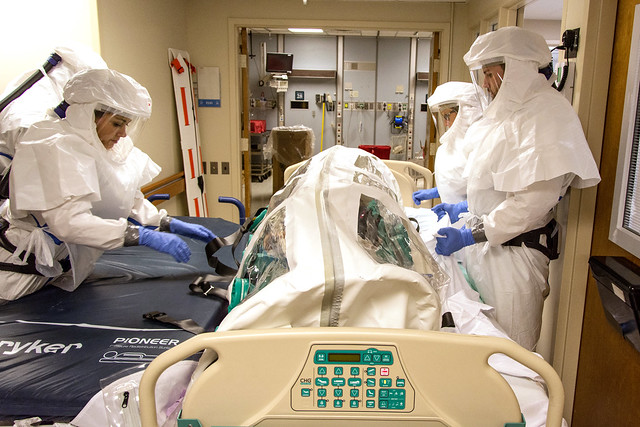 UPMC Infectious Disease Unit Ebola Drill