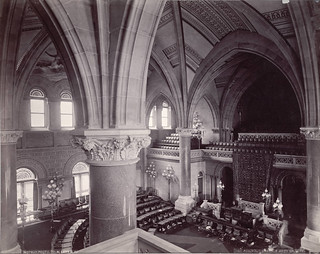 New York State Capitol, Assembly Chamber from Gallery | by Cornell University Library