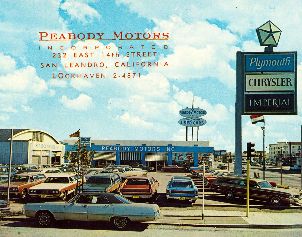Peabody Motors, Chrysler-Plymouth, San Leandro CA | This ...