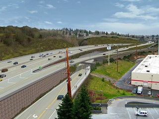 Renton Stage 2 improvements near Sam's Club in Renton | by WSDOT
