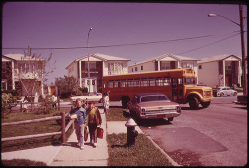 School Children on Their Way Home in Great Kills, on Staten Island 05/1973 | by The U.S. National Archives