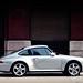 Porsche 911 in Downtown Chicago