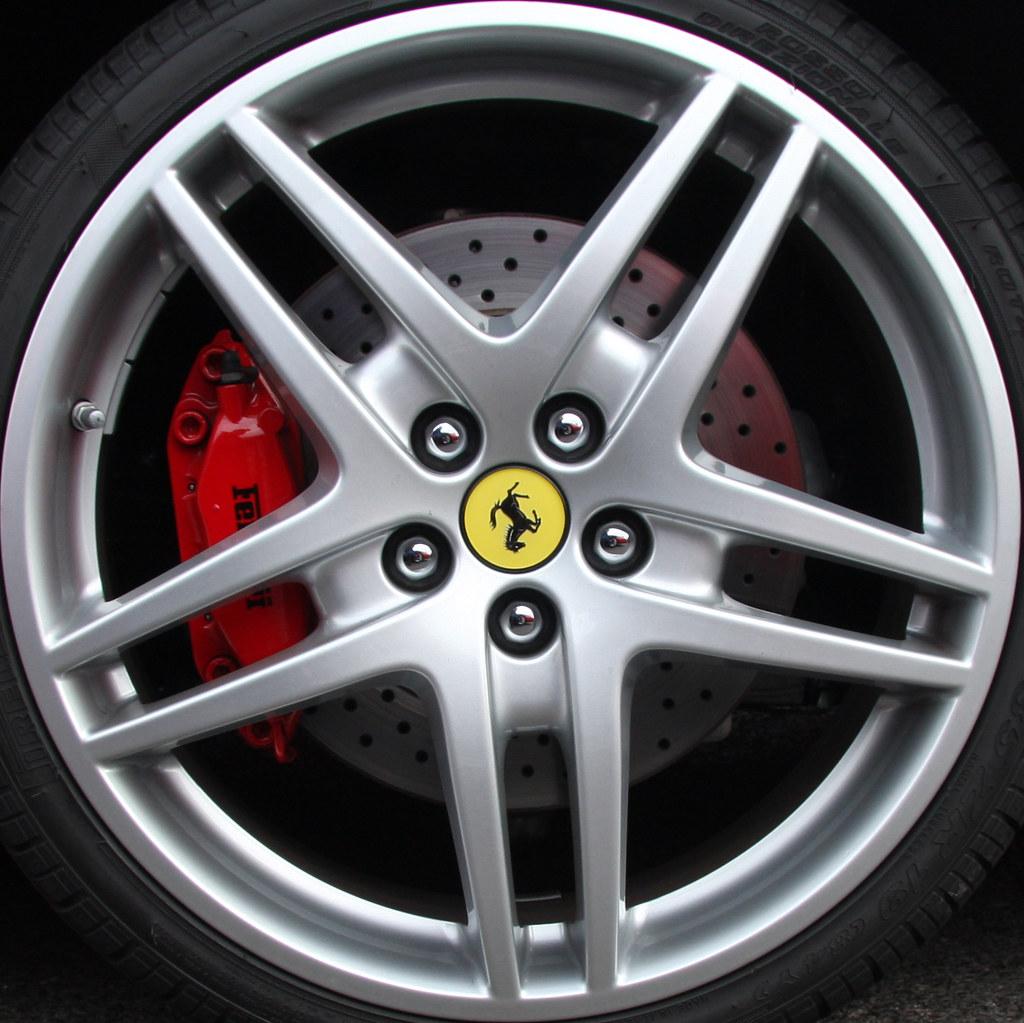 Cenário 3d Ferrari F430 Modelo 3d: Ferrari F430 Wheel