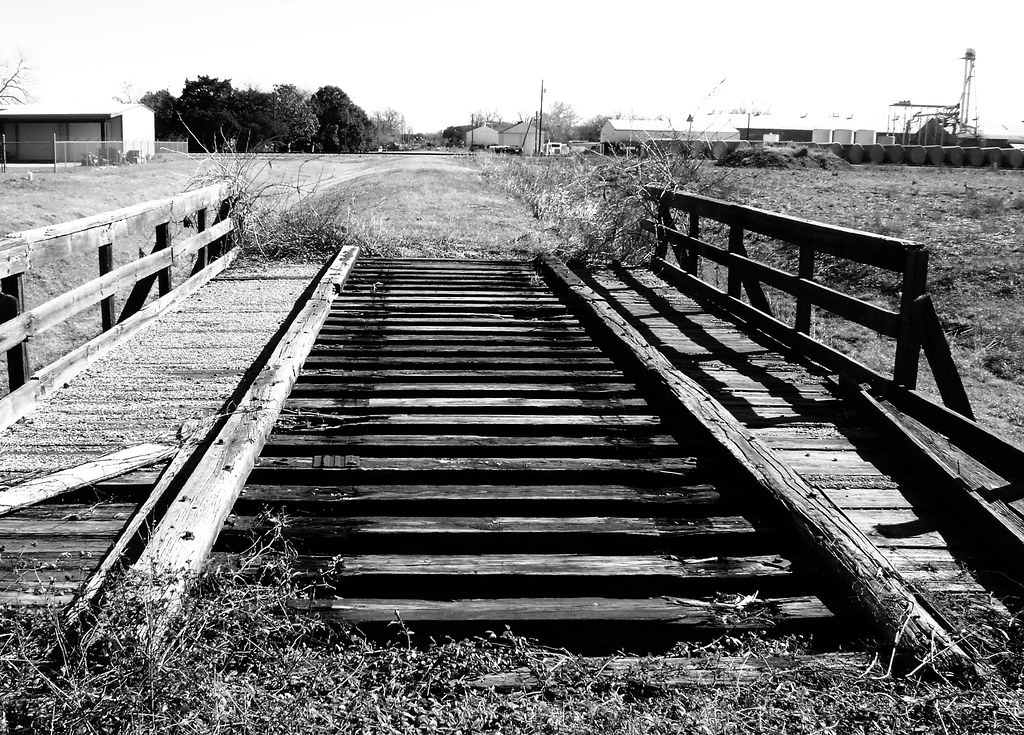 trestle on abandoned railroad grade  wharton  texas 122509 u2026