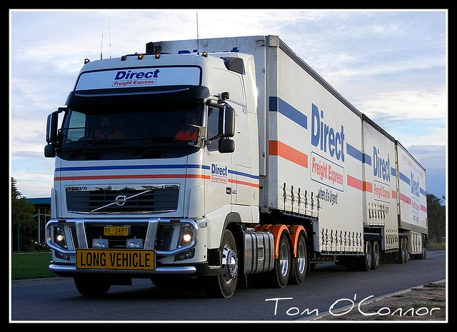 Direct Freight Express | Direct Freight Express Volvo Globet… | Flickr