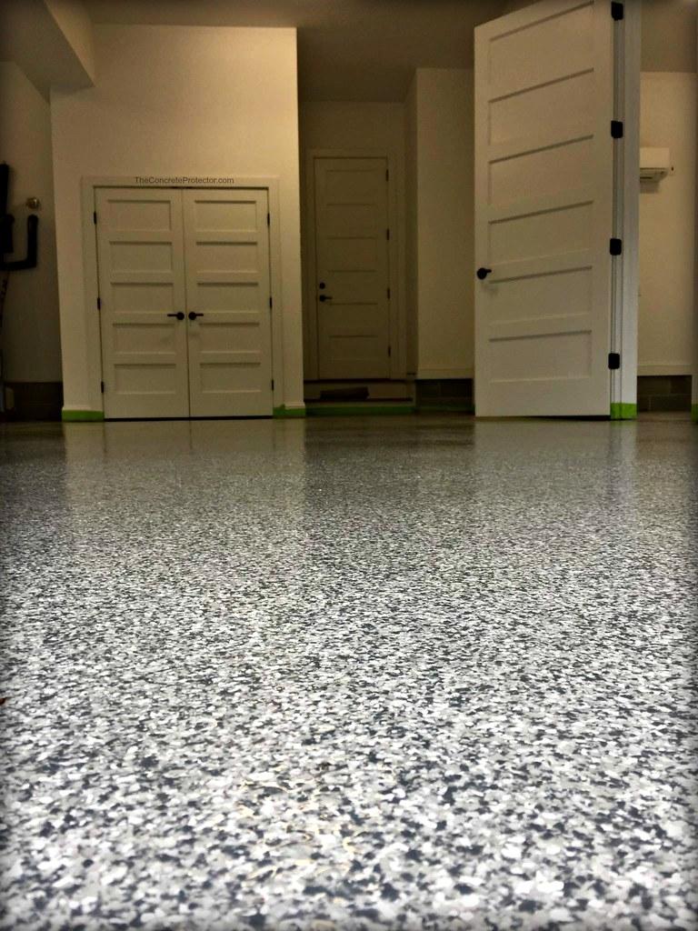 wilmington nc epoxy garage flooring transformation | flickr