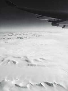 Somewhere over Greenland, pt. 1 | by tehgipster