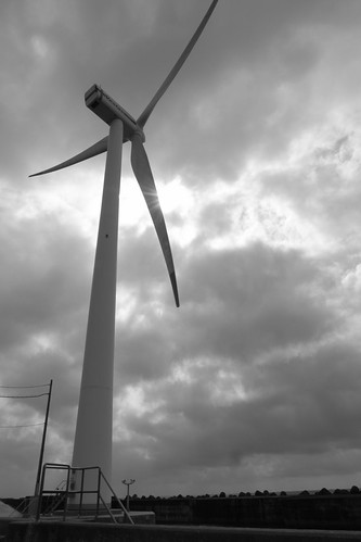 Wind power in Shonai | by kntrty