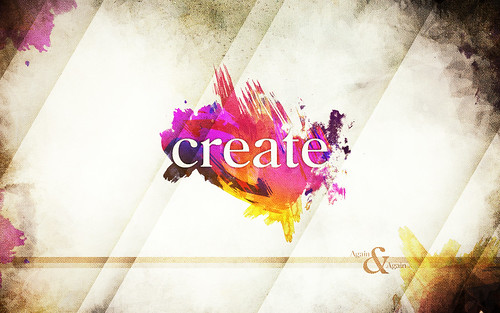 Create - Wallpaper | So I made a wallpaper last night ...