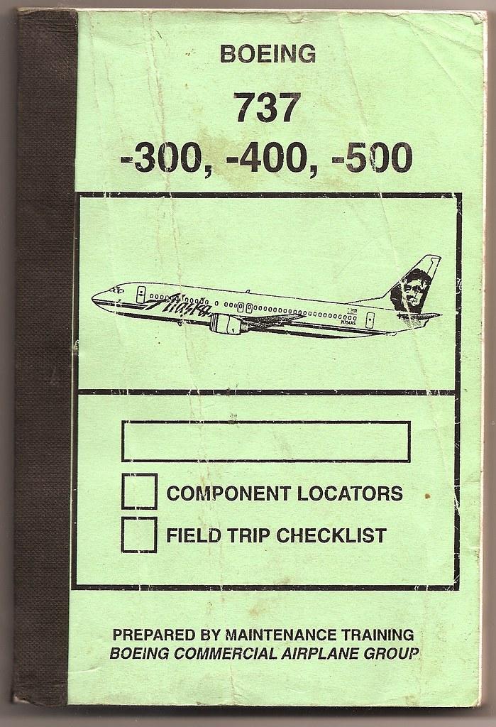boeing 737 300 400 500 manitenance manual alaska airline flickr rh flickr com 737- 300 B 787