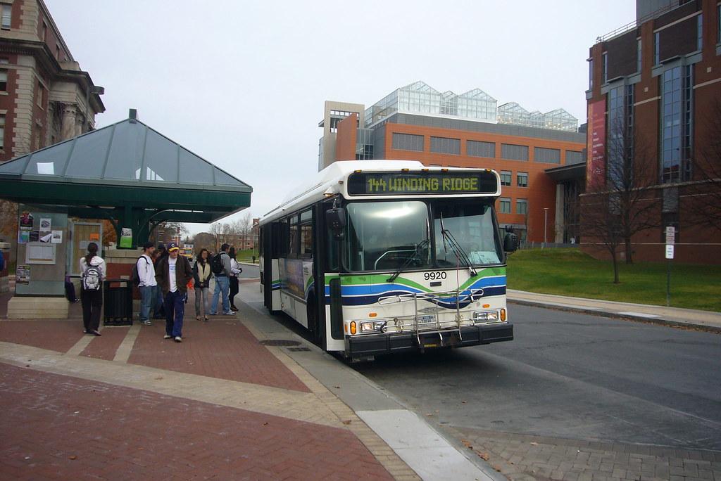 Centro Bus at Syracuse University | Centro Bus transports ...