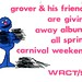 Grover give away