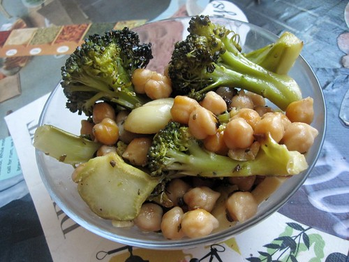 40 cloves Broccoli & Chickpeas | by jdfunks