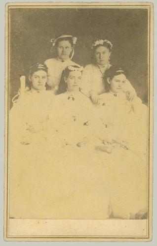 cdv five women